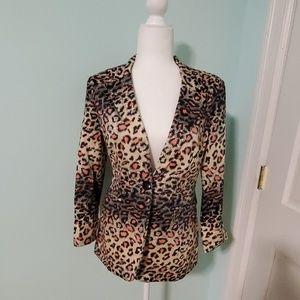 Ark & Co. Leopard Print Blazer